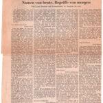 1965 Die Presse Kultur, Namen von Heute...