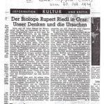 1979 Südost Tagespost Graz, Riedl In Graz