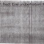 1981 Zeitung Der Naechstenliebe Nr80,  Mahnung
