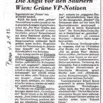 1982 Presse, Angst Vor Den Sauriern, Hubert Margl