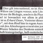 1986 Soziologische Revue, Wolfgang Lipp