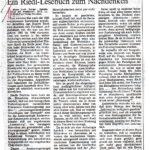 1987 Die Zeit, Spätzündung Der Evolution