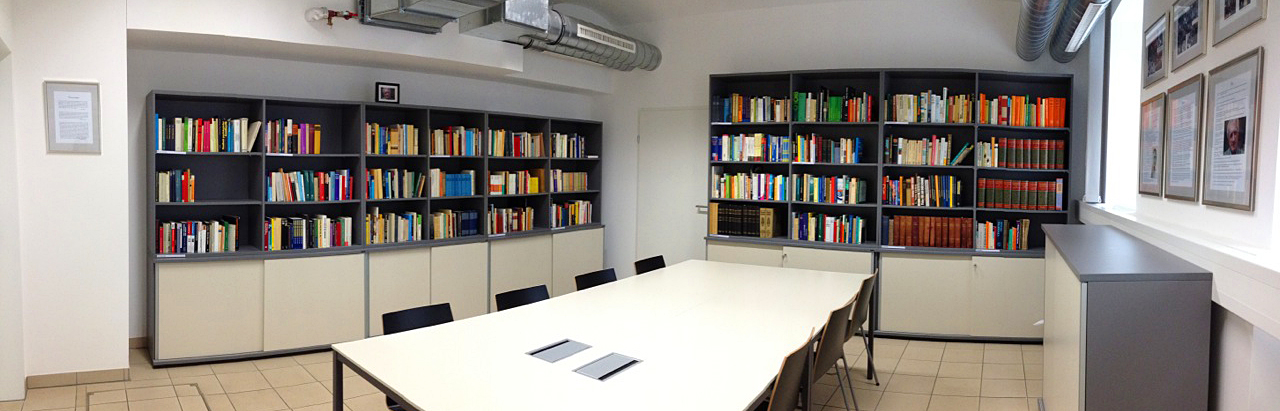 Panorama Riedl Bibliothek
