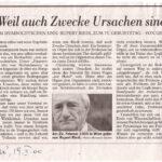 2000-02-19-DiePresse-Weil Auch Zwecke, Gerhard Havelka
