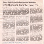 2000-02-21-Wiener Zeitung -Forscher Wird 75