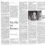 2001-12-22-Die Presse-Ein Ohr Im Kosmos