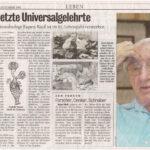 2005 Kurier-Der Letzte Universalgelehrte